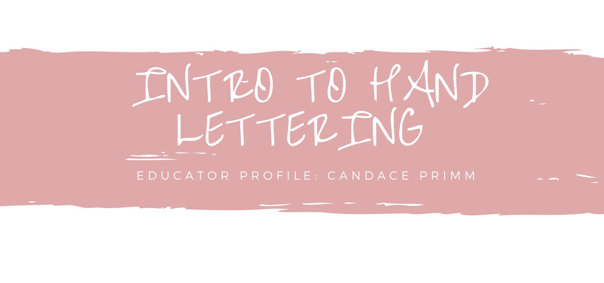 Blog Header for Handlettering workshop
