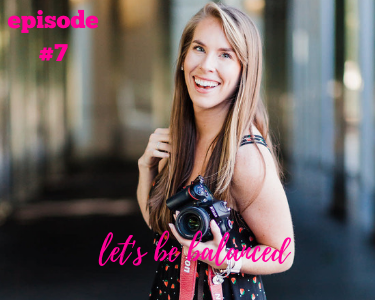 Kate Lynn Imagery, Charlotte Photographer talking about being balanced working on her passion and a part-time job.
