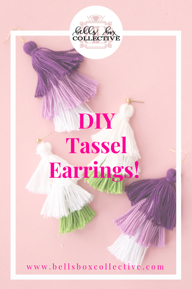 Diy Tassel Earrings Bells Box Collective