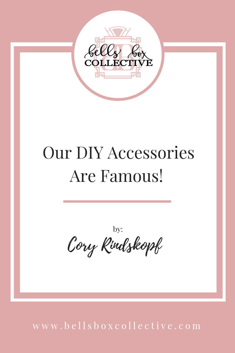 Our DIY Accessories are famous here in Charlotte!